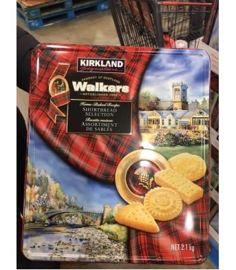 KIRKLAND柯兰 Walkers黄油曲奇酥饼干  红色铁盒黄油饼干