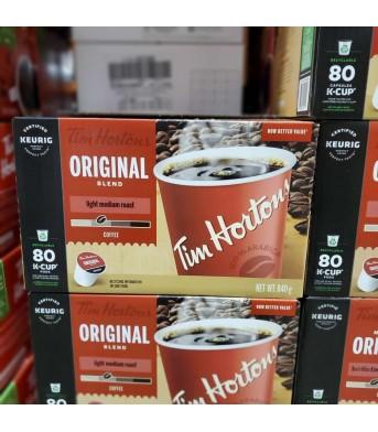 Timhortons 咖啡蛋 80杯/盒
