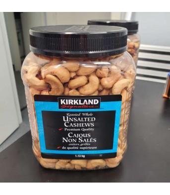 Kirkland柯兰 无盐 腰果 1.13kg/桶