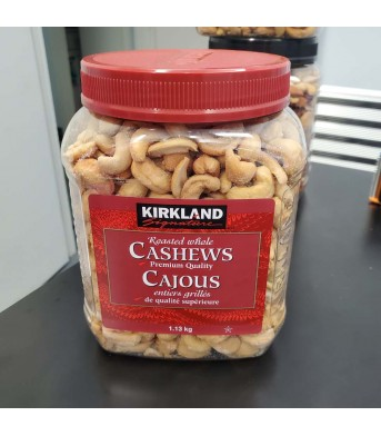 Kirkland柯兰 有盐 腰果 1.13kg/桶