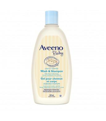 Aveeno/艾维诺 婴儿每日倍护洗发沐浴露532ml 深层滋润