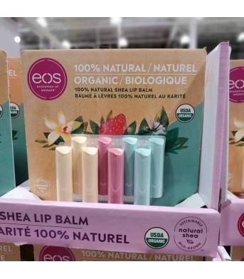 EOS 润唇膏护唇膏8个/板  滋润保湿天然水果味孕妇儿童