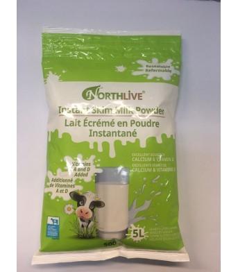 Northlive脱脂成人高钙脱脂奶粉500g=5L 低脂