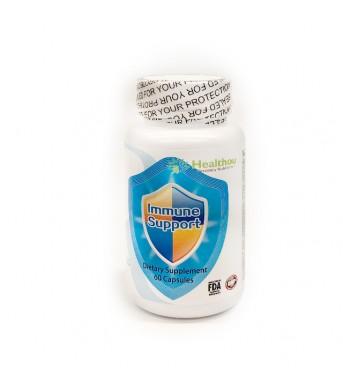 healthou贺欣康 专业康复营养 Immune Support免疫抗癌配方60胶囊(加拿大顺丰直邮)