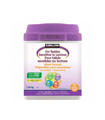 Kirkland柯兰 Omega+0-12月防过敏婴儿奶粉1.36kg/桶