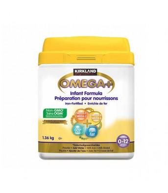 Kirkland柯兰 Omega+0-12月婴儿奶粉1.36kg/桶