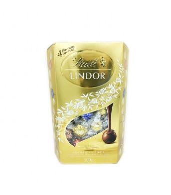 Lindt瑞士莲 巧克力4种口味 900g/盒