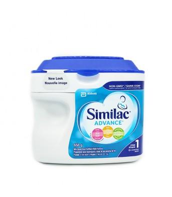 Similac雅培 1段一段婴儿奶粉658g/桶
