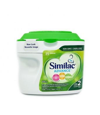 Similac雅培 2段二段婴儿奶粉658g/桶