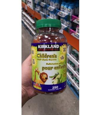 KIRKLAND柯兰 儿童复合维生素糖250粒/瓶