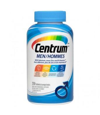 Centrum善存 男士多种复合维生素片250片/瓶  叶酸矿物质片