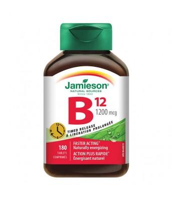Jamieson健美生 维生素B12 180片/瓶  增加红细胞贫血造血