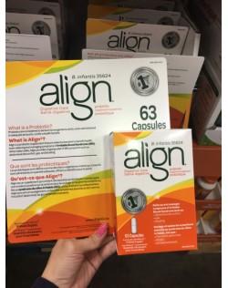 Align 成人益生菌63粒/盒  补充胶囊调理肠胃通便秘改善消化系统